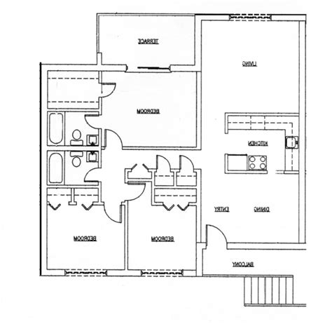 garage floor plans with bathroom a house plan with garage on half plot house floor plans
