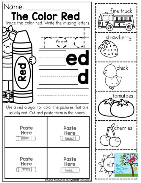 other words for color color word practice and tons of other printable for