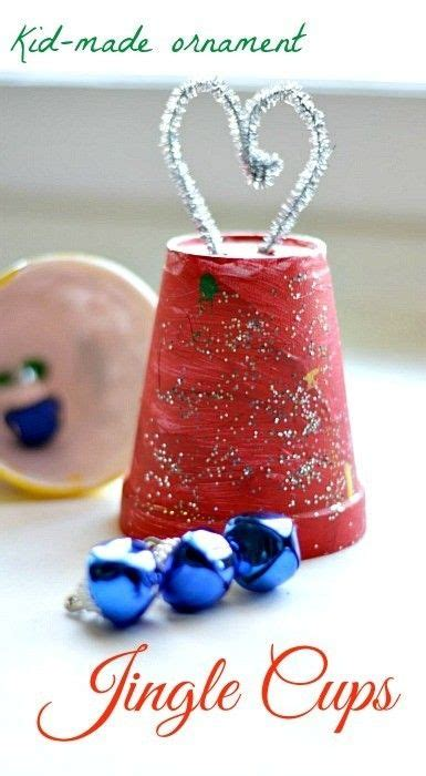 christmas crafts for kids making ornaments using bells