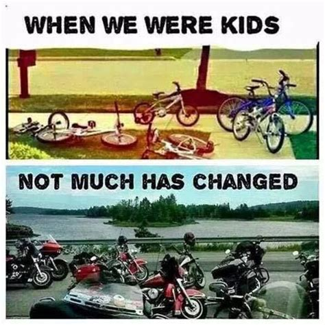 E Bike Vs Motorrad by Then Vs Now Bicycles Vs Motorcycles Not Much Has Changed