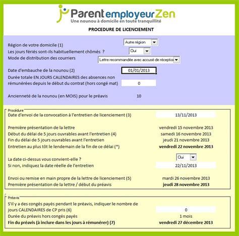 Exemple De Lettre Licenciement Nounou Modele Lettre Licenciement Nounou Fin Contrat