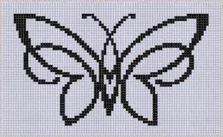 butterfly 5 cross stitch pattern by motherbeedesigns craftsy