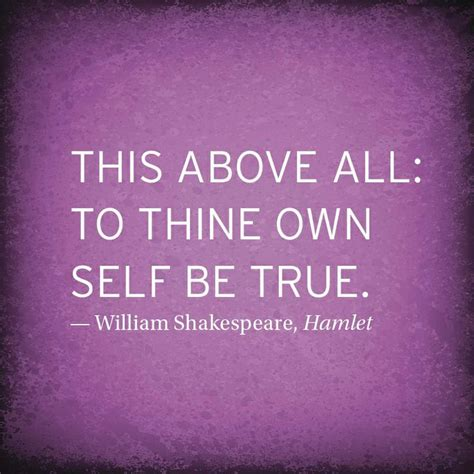 own selves meaning to thine own self be true quote from shakespeare