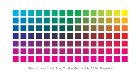 color matrix how to create a wide range of custom color swatches in