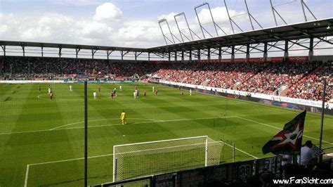 Ingolstadt Audi Sportpark by Audi Sportpark Ingolstadt Fansicht Dein Blick Aufs