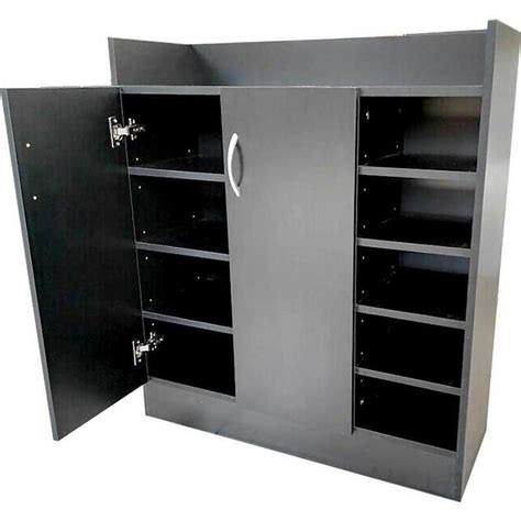 buy shoe storage 21 pair shoe cabinet storage cupboard in black buy shoe