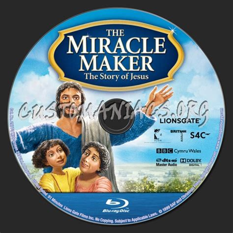 The Miracle Maker Free The Miracle Maker Label Dvd Covers Labels By Customaniacs Id 157534 Free