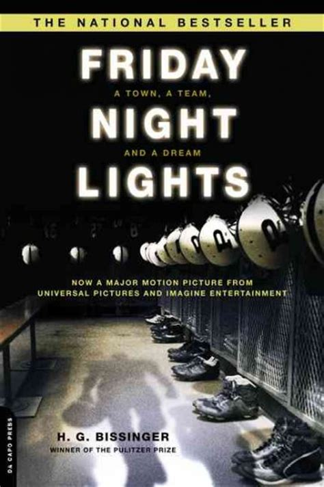 Friday Lights Review by Book Review Friday Lights By H G Bissinger