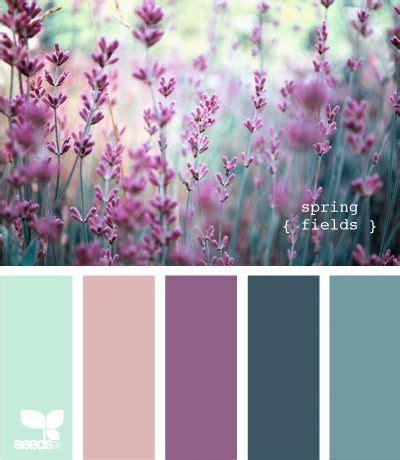 seeds design color palette lavender color schemes