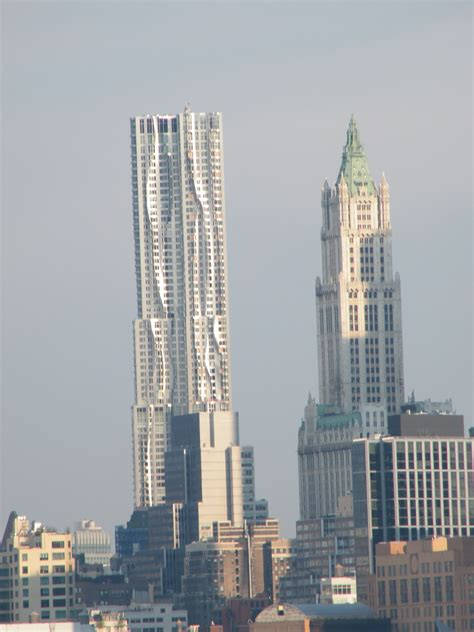Apartment Finder In Manhattan Ny Classic Woolworth Building Frank Gehry Apartment Building