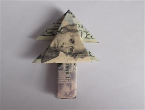 Origami Money Tree - origami using money lovetoknow