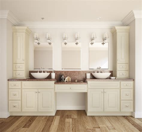 french vanilla glaze ready  assemble bathroom vanities cabinets