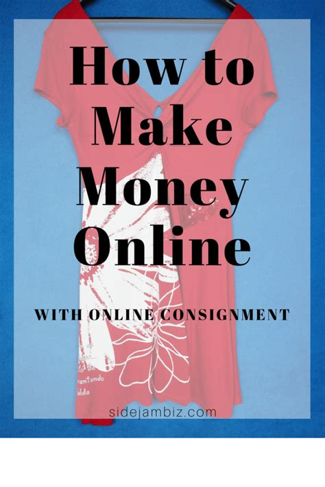 How To Make Money Selling Clothes Online - how to sell used clothing make money through online consignment