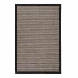 teppich grau beige teppich sariska grau beige mit schwarzem saum urbanara