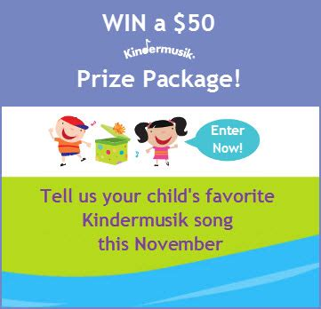 November Sweepstakes - favorite kindermusik song archives minds on music