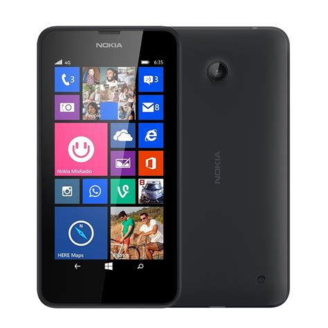 nokia mobile 4g 2016 2016 original nokia lumia 635 windows phone 4 5 quot quad core