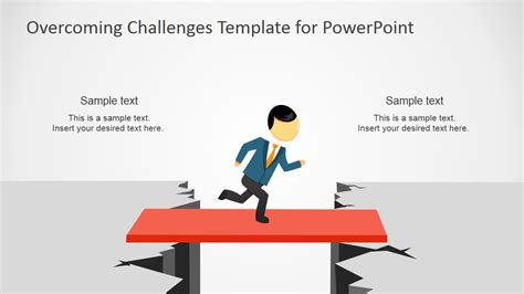 challenge in overcoming challenges powerpoint template slidemodel