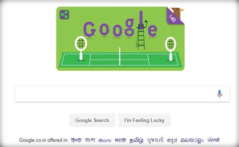 google theme today meaning wimbledon chionship google doodle celebrates the 140th
