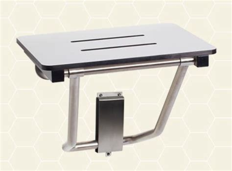 wall mounted sit up bench wall mount compact folding shower seats to aid those with