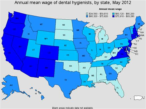 Dental Assistant Salary by The Gallery For Gt Dental Hygienist Outlook