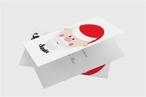 Free Santa Card Templates by Free Santa Card Artwork Template