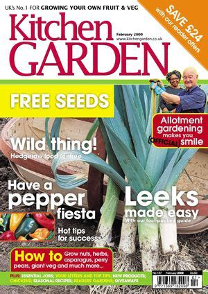 kitchen magazines california calam 233 o kitchen garden magazine