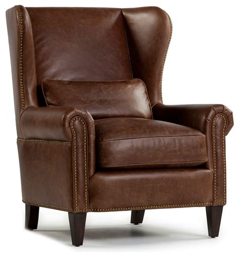 small traditional wingback chair brighton leather wingback chair walnut traditional