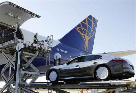 arab owned supercars flown  london  cargo jets