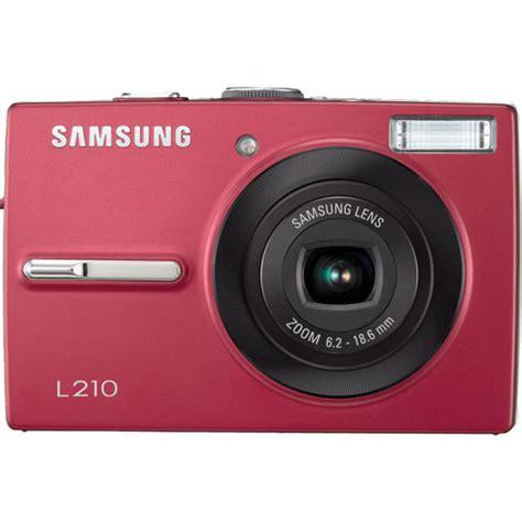 Kamera Digital Samsung L210 samsung l210 digital ec l210zrba us b h photo