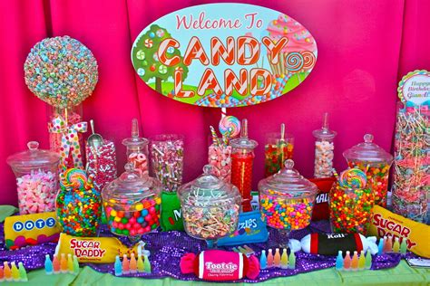 candy buffet candy land quinceanera and party planning