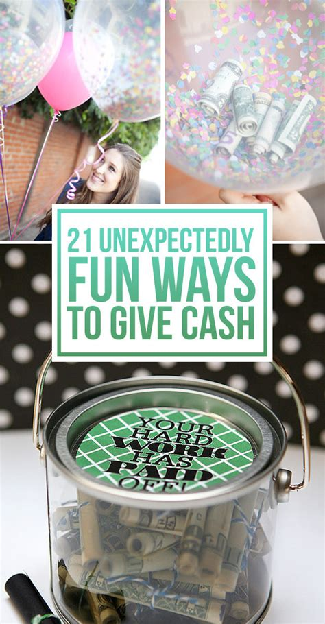 Wedding Gift Money Ideas by 21 Surprisingly Ways To Give As A Gift