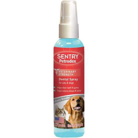 dental spray for dogs sentry petrodex dental spray for cats dogs 4 oz