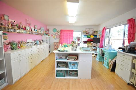 Make A Craft Room The Mad Cropper by Craft Room Organization St Scrapbook Expo