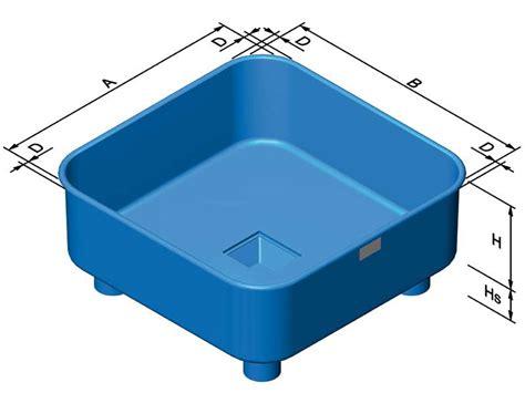 vasche quadrate vasche e incubazione vasche quadrate