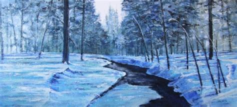 imagenes de paisajes frios obra de arte paisaje frio artistas y arte artistas de la