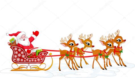 animated photos of christmas santa claus with reindeer santa stock vector 169 dazdraperma 1193985