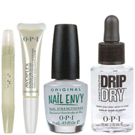 Opi Nail Products by Opi The Nail Set 4 Products Free Delivery