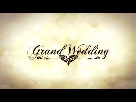 after effect wedding template free wedding rings intro doovi
