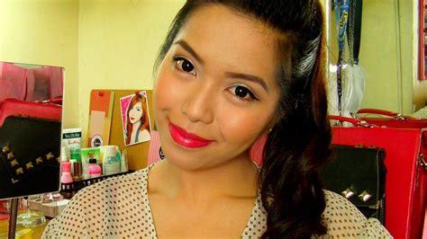makeup tutorial tagalog graduation day makeup look tagalog tutorial