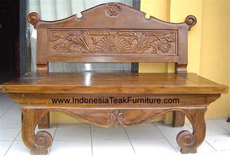 indonesia design furniture teak furniture at the galleria