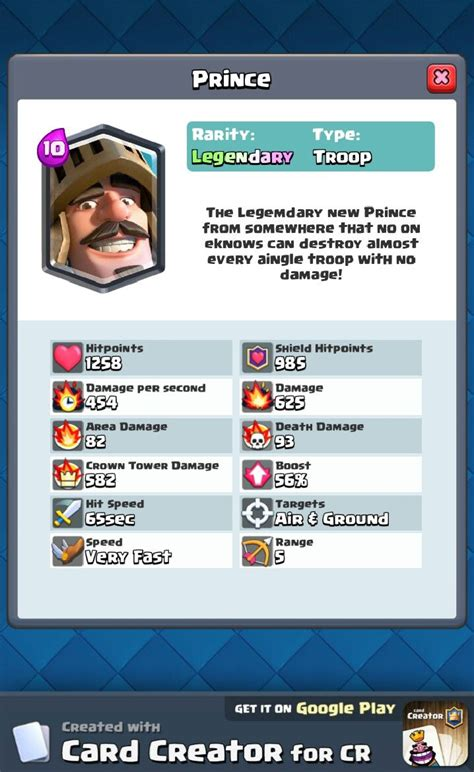 card creator 49 best images about clash royale on clash of
