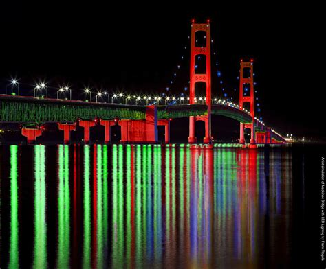 one man s dream to quot light the mackinac bridge quot with