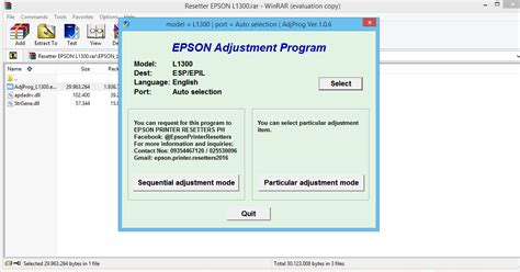 resetter epson l1300 by orthotamine epson l1300 resetter software free download reset epson