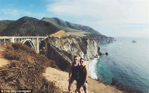 During My Recent Trip To California 2 by Tom Daley And Dustin Lance Black Engaged After Two Years