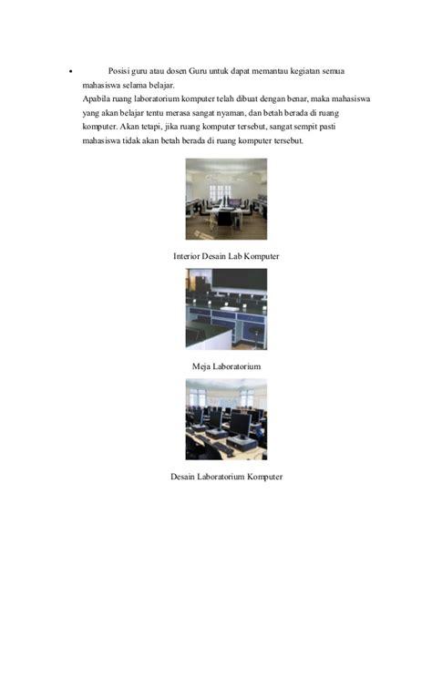 layout laboratorium komputer desain laboratorium komputer ainur rohmah 14 120 0015