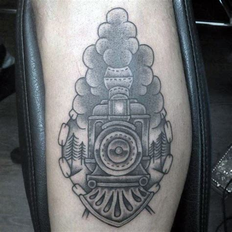 train tattoo designs 70 tattoos for masculine railroad designs