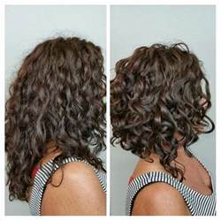 how to cut a aline bob on wavy hair 25 best ideas about curly inverted bob on pinterest 3a