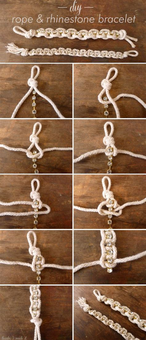 how to make rope jewelry 1000 ideas about rope bracelets on nautical