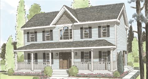 Two Story Colonial | two story colonial home plans house design plans