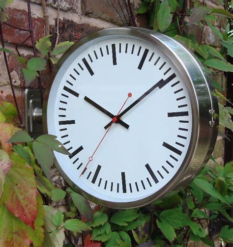 Garden Clock by Sided Modern Outdoor Garden Clock 28cm 11 Quot 163 55 99